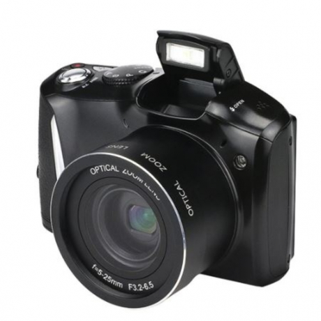 24 Megapixel Telephoto HD Home Photography SLR Digital Camera CMOS Sensor 20x Zoom JPEG/AVI 3.5