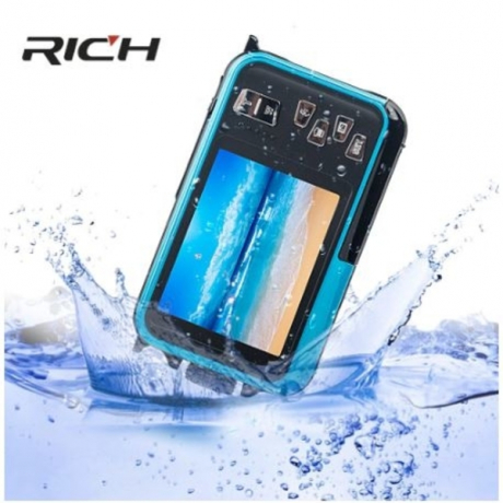 H268 Digital Camera 3M Waterproof Camera 2.7 Inch +1.8 Inch Double Screen Max 24MP 16 times Digital Zoom black Camcorder