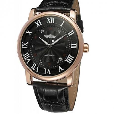 WINNER Men Fashion Simple Double Scale Calendar Mechanical Watch - Multi-C