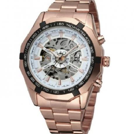 WINNER Men Luxury Fashion Classic Sport Automatic Mechanical Watch - Multi-A