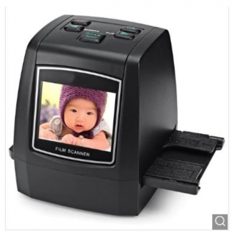 High Resolution Negative Film Scanner - Black