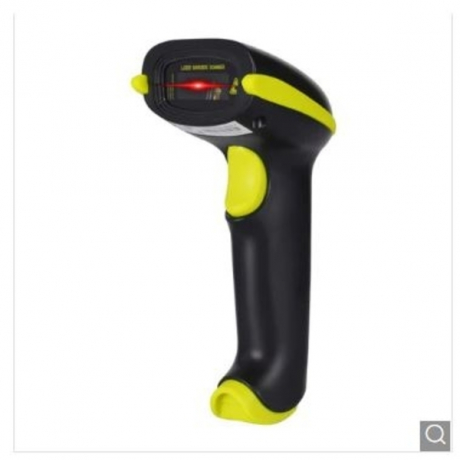 YHD - 5100 1D 2.4GHz Laser Wireless Barcode Scanner - Yellow