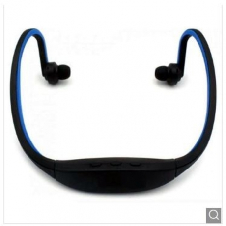 Cwxuan Fashionable Quality Bluetooth Headphone Headset with Mic / Music Playing / FM / TF Slot - Blue