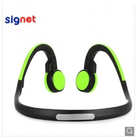 Signet BT - BK Bluetooth 4.1 Bone Conduction Headphones - Green