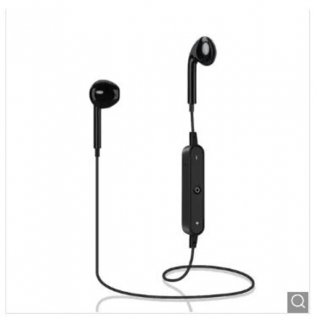 Sport Bluetooth Wireless Earphone - Black