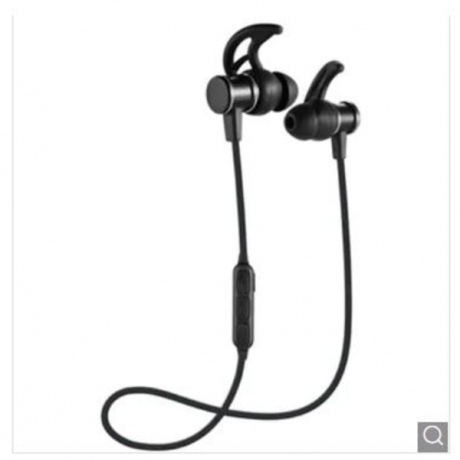 Sweatproof Headphones Bluetooth Wireless Sports Earphones Running Earbuds Stereo Headset - Black