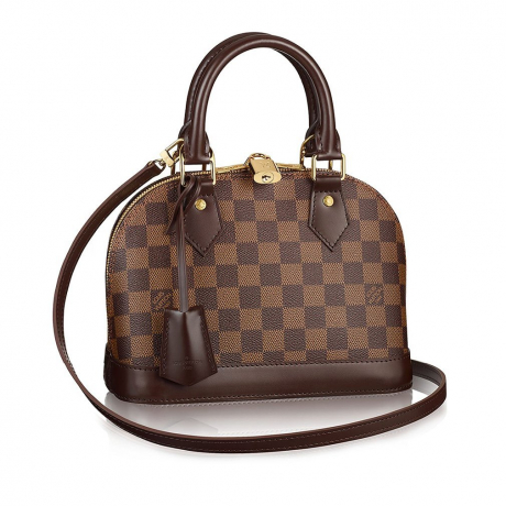 Authentic Louis Vuitton Damier Alma BB Cross Body Handbag Article