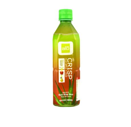 ALO Crisp™ Real Aloe Vera Pulp and Juice Fuji Apple + Pear -- 16.9 fl oz