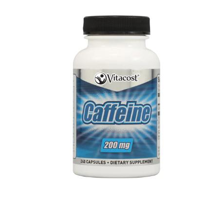 Vitacost Caffeine -- 200 mg - 240 Capsules