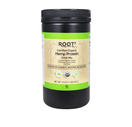 Vitacost ROOT2 Certified Organic Hemp Protein Drink Mix -- 16 oz