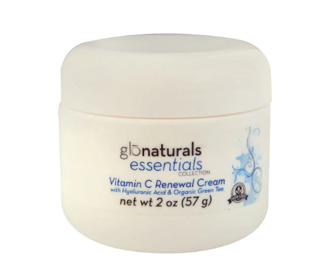 Vitacost - Glonaturals Essentials Collection - Vitamin C Renewal Cream with Hyaluronic Acid & Organic Green Tea - Non-GMO -- 2 oz