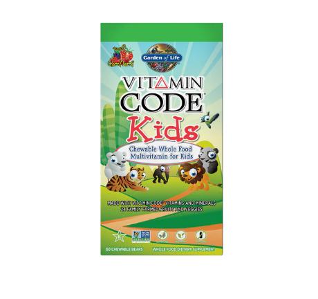Garden of Life Vitamin Code® Kids Cherry Berry -- 60 Chewable Bears