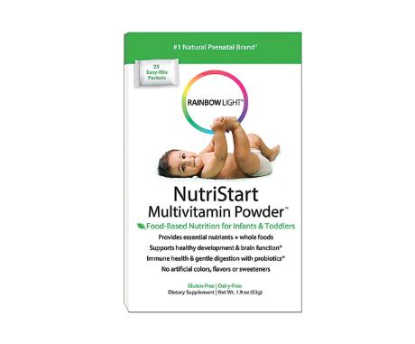 Rainbow Light NutriStart Multivitamin Powder™ -- 25 Packets