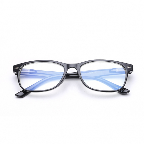 Blue Light Filter Computer Glasses to Block Blue Light Frame Metal Men Anti Blue Light Blocking Glasses for Computer Use