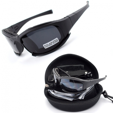 Polarized lens X7 outdoor safety military tactical glasses for wind sand prevention