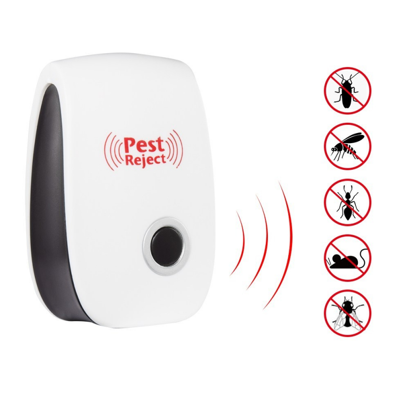 ultrasonic pest reject repeller control electronic trap