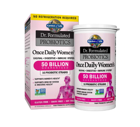 Garden of Life Dr. Formulated Probiotics Once Daily Women's -- 50 billion - 30 Vegetarian Capsules