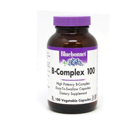 Bluebonnet Nutrition B-Complex 100 -- 100 Vegetable Capsules