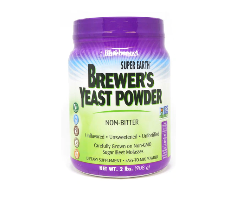 Bluebonnet Nutrition Super Earth® Brewer's Yeast Powder Unflavored -- 2 lb
