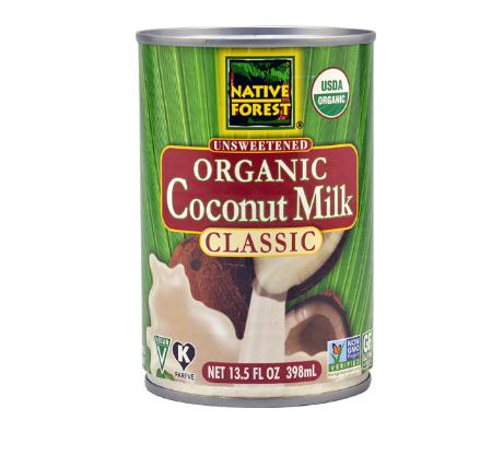 Native Forest Organic Coconut Milk Unsweetened -- 13.5 fl oz