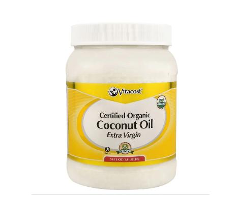 Vitacost Certified Organic Unrefined Coconut Oil -- 54 fl oz
