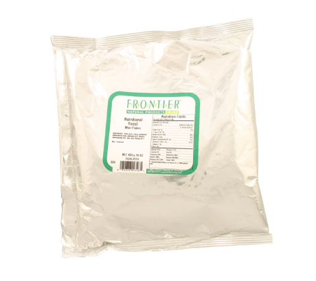 Frontier Natural Products Nutritional Yeast Mini Flakes -- 1 lb