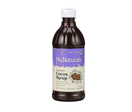 NuNaturals NuStevia® Syrup Cocoa -- 16 fl oz