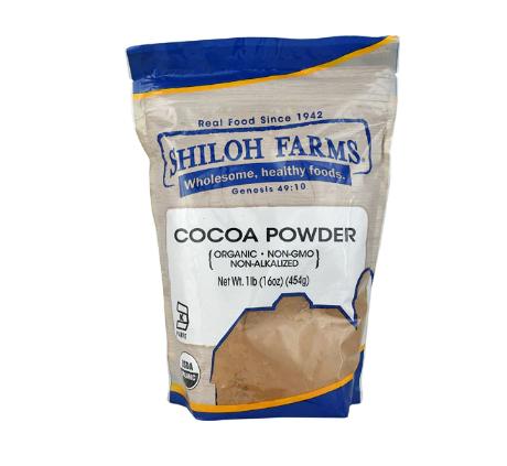 Shiloh Farms Organic Cocoa Powder -- 16 oz