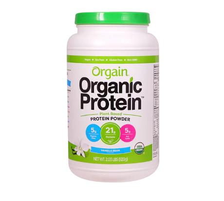Orgain Organic Protein™ Plant Based Powder Vanilla Bean -- 2.03 lbs