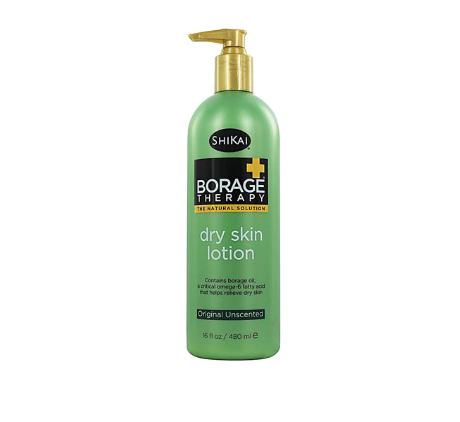 Shikai Borage Therapy® Dry Skin Lotion Unscented -- 16 fl oz