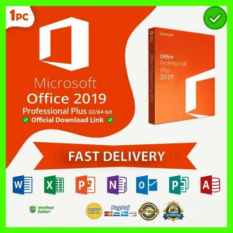 MICROSOFT OFFICE 2019 PROFESSIONAL PLUS 32/64-bit License Key