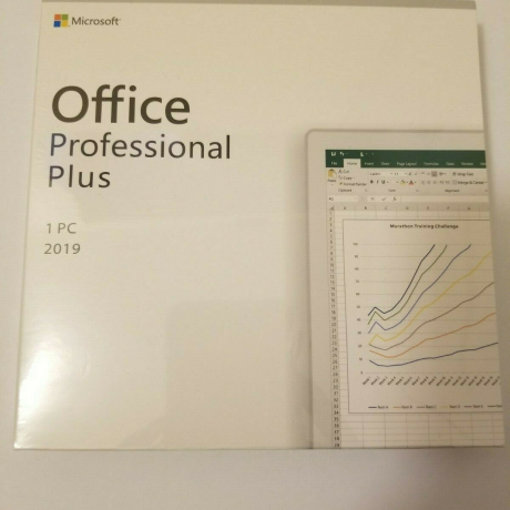 Microsoft Office 2019 Professional Plus Retail for 1 PC