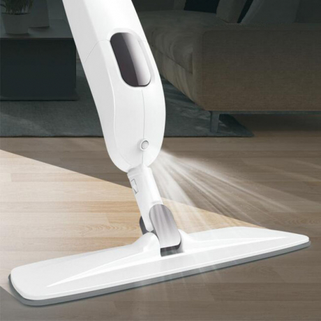 2019 Factory direct cheap magic microfiber 360 lightweight hidden water tank healthy spray mop steam cleaner mop