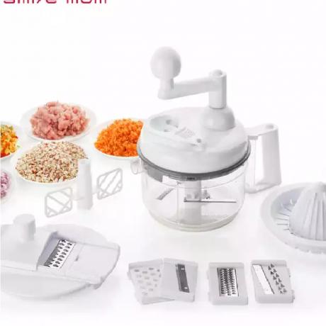 10 in 1 Multi 1.15L Food Processor - Kitchen Accessories - Vegetable Slicer Grater - Salad