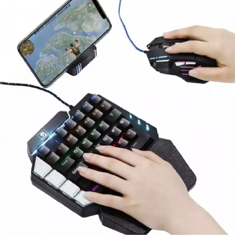 Game keyboard plus pub g mouse for mobile phone