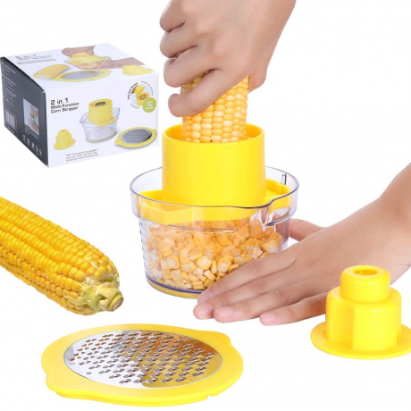New product creative home use multifunctional stripping corn garlic vegetables peeler kitchen