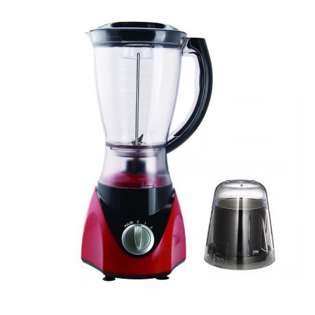 350W 2 In 1 1.5L Plastic Jar Glass Jar 2 Speeds Electric Blender Juicer Blender Food