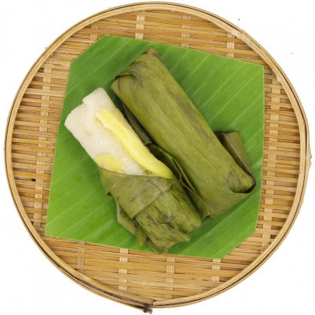 អន្សមខ្នុរ Sticky rice with Jackfruit