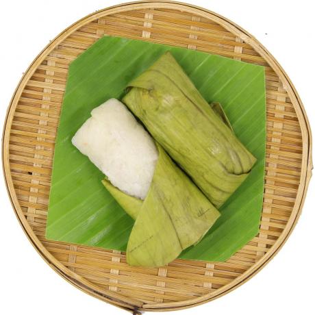 អន្សមមៀន Sticky Rice with longan