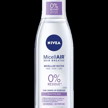 ទឹក លាងសំអាតមុខ Nivea MicellarWater MakeUp Remover(Acne Care)Oxygen 125ml