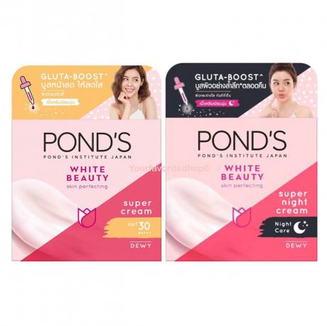 ក្រីម លាបមុខ ផន Ponds Facial Cream - WB White Beauty SPF30 50g