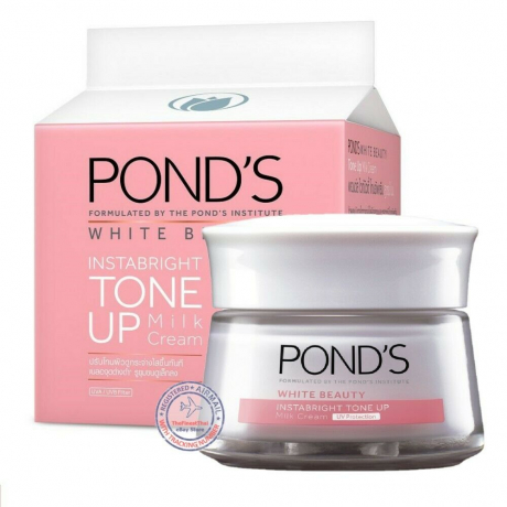 ក្រីម លាបមុខ ផន Ponds Facial Cream - WB White Beauty Tone Up 50g