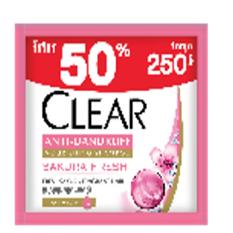 សាប៊ូកក់សក់ក្លៀឈូក កញ្ចប់ CLEAR SH CSC CARAT