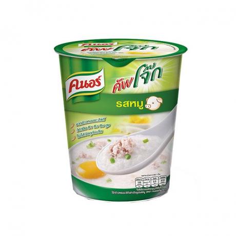 បបរខ្នរកំប៉ុង រសជាតិសាច់ជ្រូក Knorr Jok Cup Pork 35g