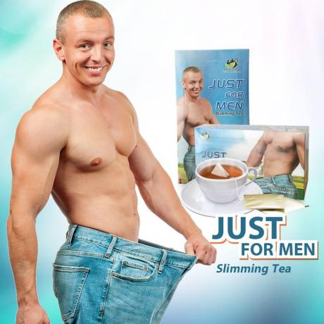 តែសម្រកបុរស 40g Slimming Tea Just For Men