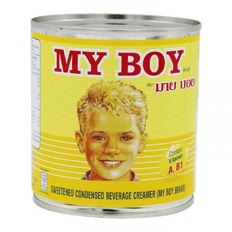 ទឹកដោះគោខាប់ My Boy 380g