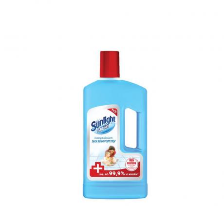 ទឹកសំអាត ឥតការ៉ូ Sunlight FLR Antibacterian BTL1kg