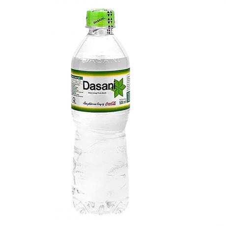 Dasani Mineral Water 500 ML 24 Bottles