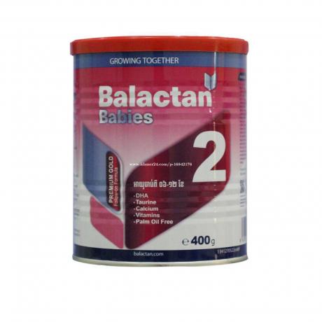 ម្សៅទឹកដោះគោ Balactan2 400g