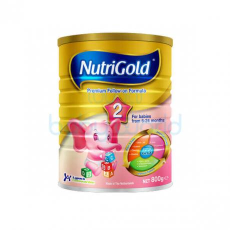 ម្សៅទឹកដោះគោ NutriGold2 800g